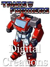 Transformers T-shirt Transfer Design Printable DIY INSTANT DOWNLOAD Iron... - $2.99