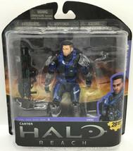 Halo Reach: Series 5: Carter: No- Helmet: McFarlane Toys. - $37.99
