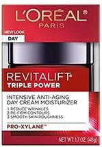 L'Oreal RevitaLift Triple Power Intensive Day Cream Moisturizer, 1.7 oz - $13.24