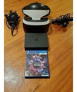 PLAYSTATION 4 VR SYSTEM ~ CONSOLE, CAMERA, WIRES, 1 GAME INCLUDED ~ NO C... - $244.99