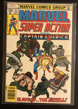 MARVEL SUPER ACTION #6 (1977) JACK KIRBY!! STAN LEE!! CAPTAIN AMERICA! - $9.50
