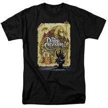 Dark Crystal Movie Poster T Shirt Jim Henson retro fantasy film black tee DKC100 image 1