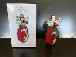 Hallmark Keepsake Ornament Ho-Ho-Hole in One 2010 - $5.00