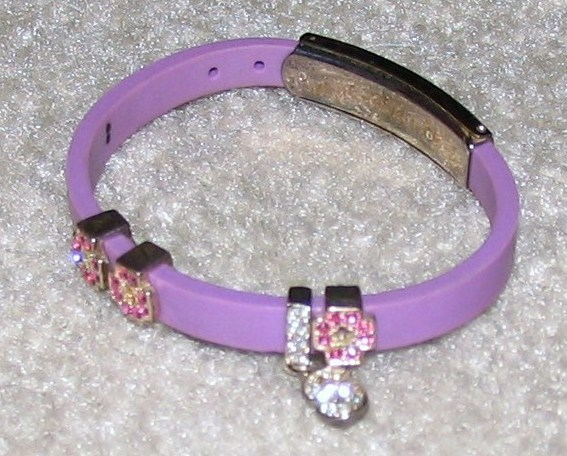 Vintage Costume Jewelry 2 Leather & Rhinestone Bracelets