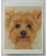Terrier Dog Art Note Cards Solomon - $12.50