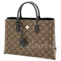 LOUIS VUITTON Flower Tote Monogram Noir M43550 2Way Handbag Authentic 49... - $2,164.17