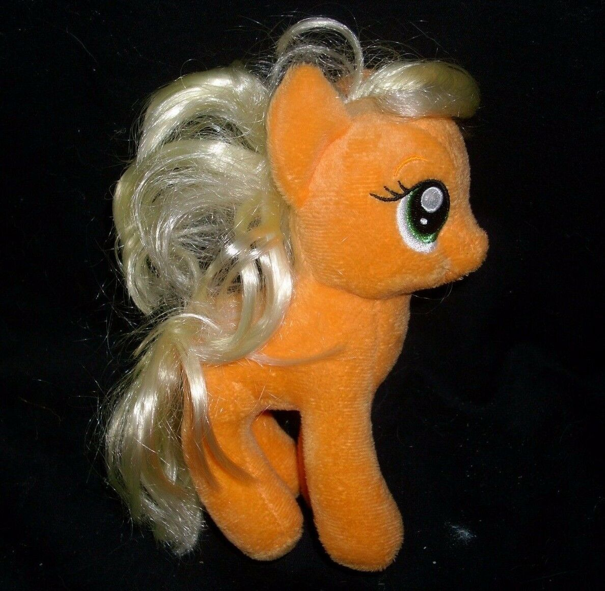 LOT 3 MY LITTLE PONY PONIES RAINBOW DASH APPLEJACK TY STUFFED ANIMAL PLUSH TOY image 3
