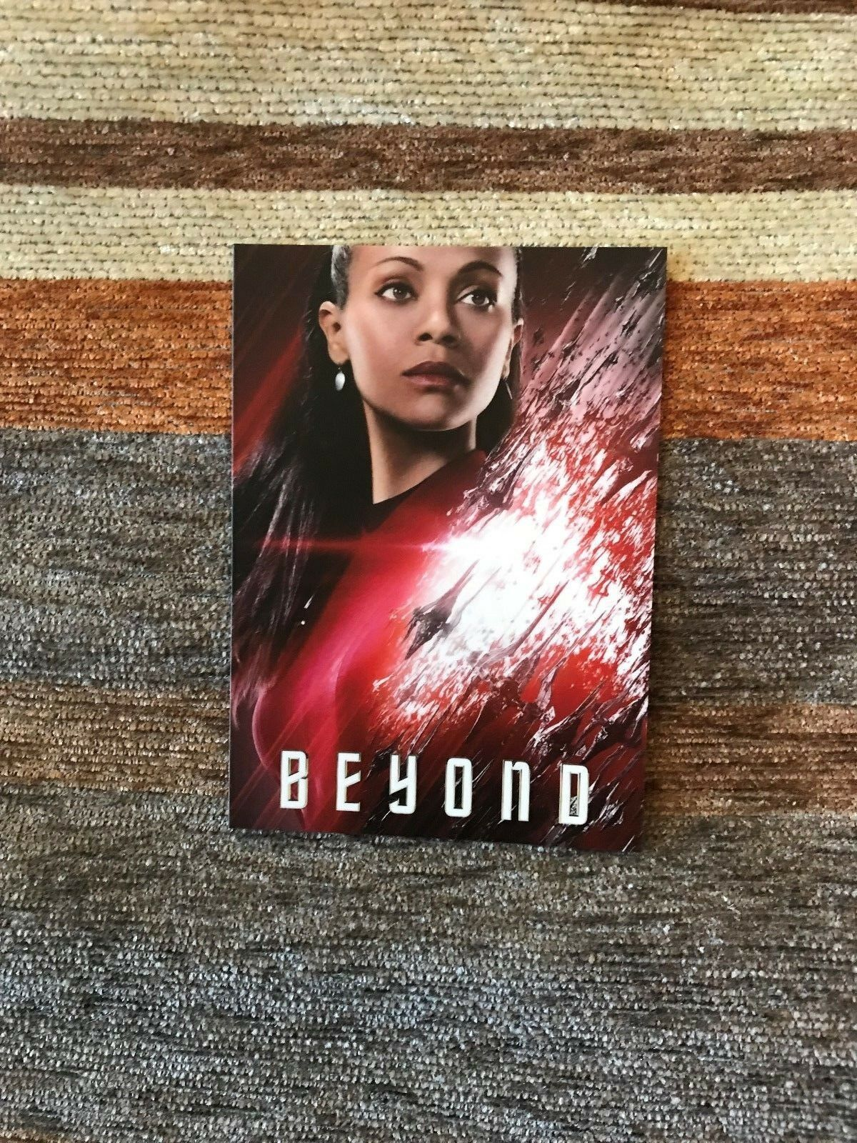 Primary image for 2016 Star Trek Beyond (Movie) Character Uhura Promo Card