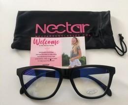 Nectar Cobalt Blue Light Blocking Glasses Brand New Black Frames Free Sh... - $23.38
