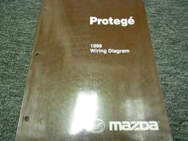 1999 Mazda Protege Electrical Wiring Diagram Service Repair Shop Manual OEM 99 - $69.30
