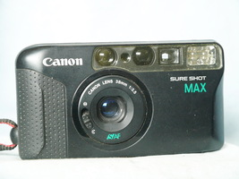 Canon Sure Shot Max Point And Shoot 35mm Compact Camera   - NICE - $30.00