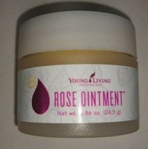 Young Living Rose Ointment .86oz Fresh Essential Oil Infused soothes hyd... - $21.22