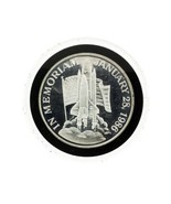 In Memoriam Challenger Space Shuttle1986 1 Troy ounce Silver round - €80,78 EUR