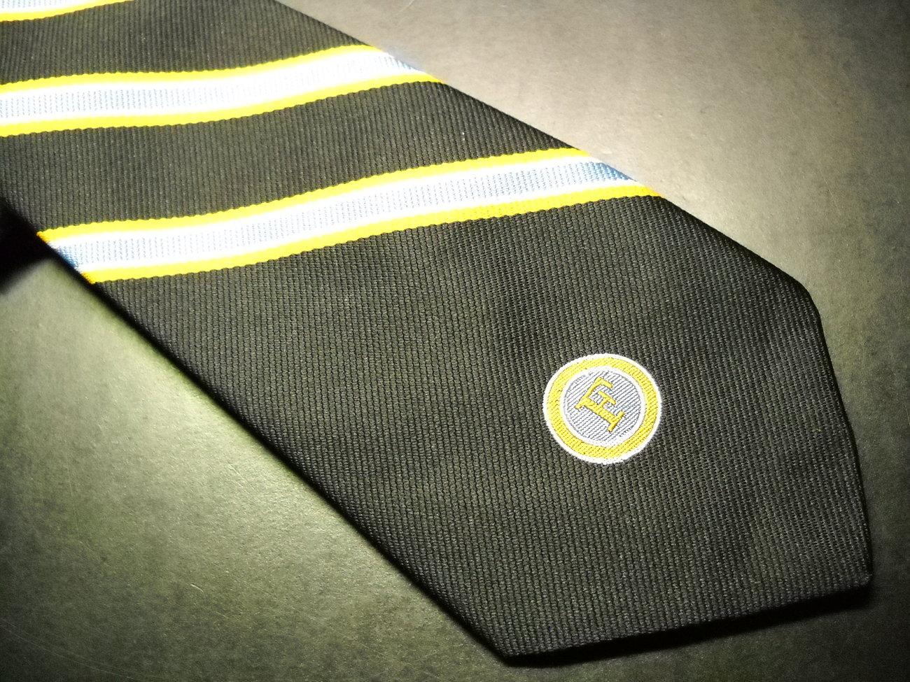 Loyal Order Of Moose Neck Tie Letter F Hartmarx Co.