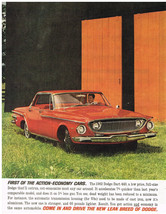 Vintage 1962 Magazine Ad Dodge Dart 400 Will Outrun And Out-Economize Mo... - $5.93