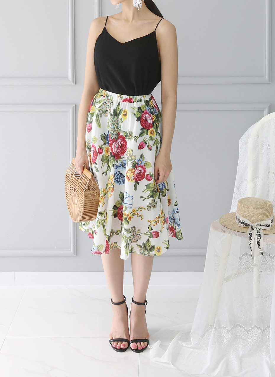 [Shoeming] ? ? Buy congestion rose SK Skirts Korean style