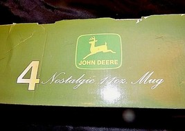 John Deere Four Nostalgic 11 oz Mugs in box Gibson2000 China AA18-JD0018 image 2