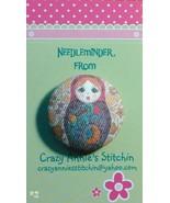 Matryoshka #2 Needleminder fabric cross stitch ... - $7.00