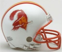 Tampa Bay Buccaneers 1976 to 1996 Riddell Mini Replica Throwback Helmet New! - $34.65