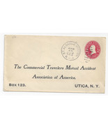 1909 RPO St. Albans & Boston RMS Train 6 Commercial Cover Stamped Envelope - $9.27 CAD