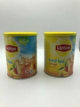 2 Lipton Iced Tea Mix Mango 26.8 oz Rare Discontinued 07/21 Bsh - $36.45