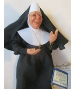 "Richard Simmon's Nana's Family Sister Mary Margaret 10"" Nun doll by Annie Wahl - $34.64"