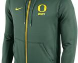 Nike Oregon Ducks College Sideline KO Therma-Fit Full Zip Fleece Hoodie