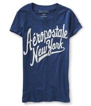 Aeropostale Graphic Women's New York Medium T-Shirt Navy + 25% off next ... - $14.99