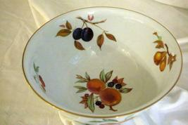 "Royal Worcester 2015 Evesham Gold Flared Rim Large Salad Bowl 11 3/8"" image 6"