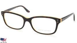 New Ralph Lauren Rl 6062 5277 Havana Yellow Eyeglasses Frame 52-16-135 B35 Italy - $83.29