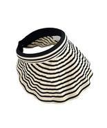 Womens Empty Top Visor Hat Packable Wide Brim Sun Protection Hat, Beige ... - $21.08