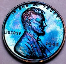 1942  PF++  LINCOLN WHEAT CENT/PROOF/CAMEO . 604 - $83.30