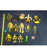 TMNT Teenage Mutant Ninja Turtles Action Figures Lot Splinter Toys - $29.69