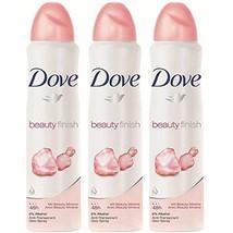Dove Deodorant Spray Beauty Finish 5.07 oz (3 Pack) - $13.79