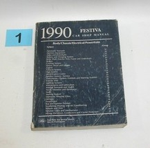 1990 Ford Fiesta Factory Service Manual Good Used Condition #1 - $22.72