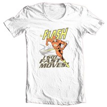 The Flash I Got Fast Moves T-shirt super hero DC comics DCO583 image 2