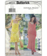 Butterick 6635 Pattern Plus Size 18 20 22 A Line Spring Dress Flounces U... - $9.79