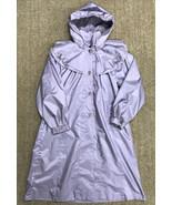 FW Fischer Outerwear Girls XL Misses Small Purple Rain Jacket Coat Lolita - $19.79