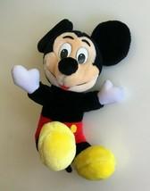 Mickey Mouse Plush Doll Walt Disney World Disneyland - $9.25