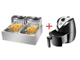 ColorJoy Electric Deep Fryer with Basket 12.7QT/12L 5000W Countertop Deep Fryer
