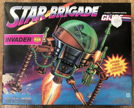 1993 GI Joe STAR BRIGADE Cobra Enemy INVADER Blasting Attack Pod. Hasbro... - $28.71