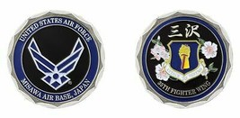 MISAWA AIR FORCE BASE JAPAN 35TH FIGHTER WING ATTACK TO DEFEND  CHALLENG... - $18.04