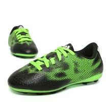 Adidas Boys Soccer Cleats Shoes Neon Green Black Size 12 Kids - $13.40