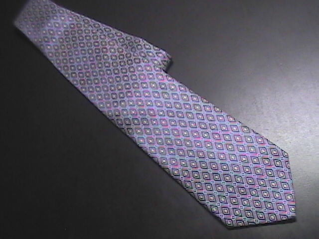 Tie jos a bank made in italy blues 01