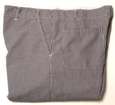 Admiral Linen & Uniform Men's Chef Pants PT 36 X 32 Black\White Checkere... - $16.99