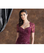110931 Lace Mother of The Bride Dresses, Short ... - $500.63