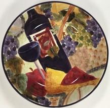 "Certified International Soup-Pasta Bowl Deborah K. Ellis Art 9.5""D X 2""Deep - $18.80"