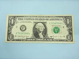 1988A $1 Web Note One Dollar Bill Experimental Press FRN #1917-G Chicago... - $99.00