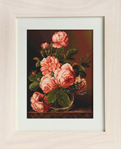 Vase With Roses Stitch Kit Luca-S - $65.00