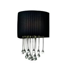 Eurofase 16036-017 Penchant Wall Sconces BLACK 1-light - $168.00